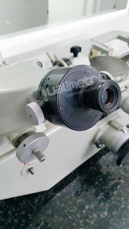 Calibração de microscópio