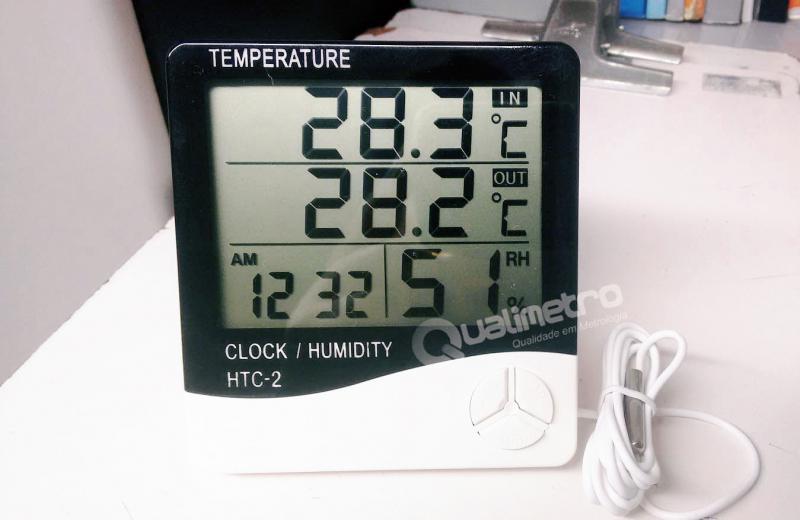 Calibração de termohigrômetro