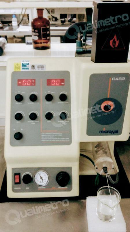 Calibração de espectrofotômetro