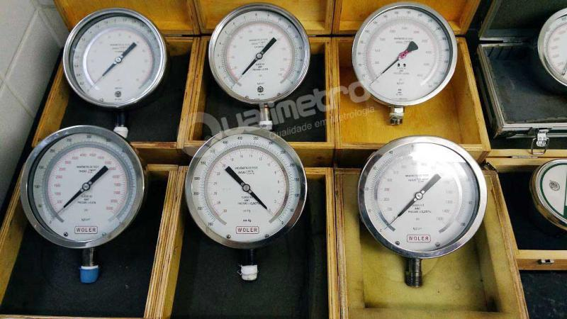 Calibração de manômetros