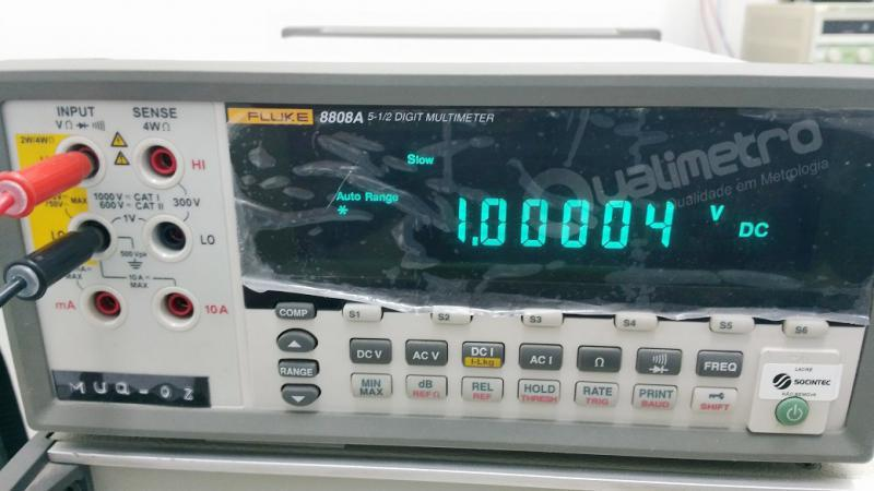 Calibração de multímetro
